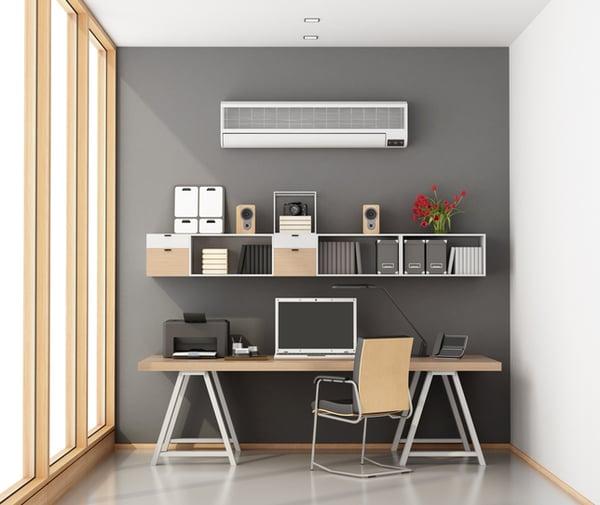 A home office printer setup