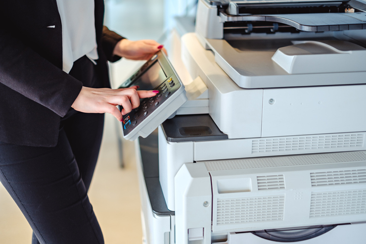 printers, copiers and fax machines